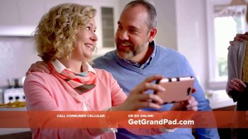 GrandPad TV Spot, 'Staying Close: First Month Free' - 310 commercial airings