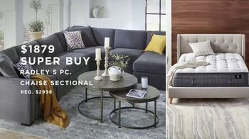 Macy's Big Home Sale TV Spot, 'Comforter Sets, Small Appliances and Radley Sectional' - Thumbnail 8