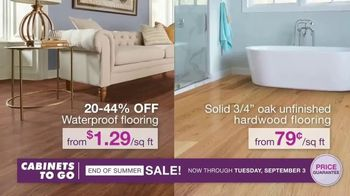 Cabinets To Go End of Summer Sale TV Spot, 'More Kitchen, Less Dough: Free Wall Cabinets' - Thumbnail 3