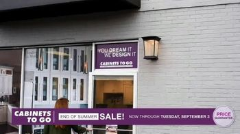 Cabinets To Go End of Summer Sale TV Spot, 'More Kitchen, Less Dough: Free Wall Cabinets' - Thumbnail 5