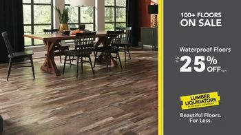 Lumber Liquidators TV Spot, 'Waterproof Deals' - Thumbnail 5