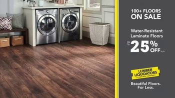 Lumber Liquidators TV Spot, 'Waterproof Deals' - Thumbnail 6