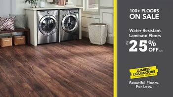 Lumber Liquidators TV Spot, 'Waterproof Deals' - Thumbnail 7