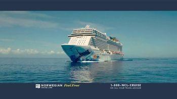 Norwegian Cruise Line Free at Sea TV Spot, 'Feel Free: Cruises from Boston: $449' - Thumbnail 1