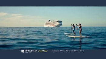 Norwegian Cruise Line Free at Sea TV Spot, 'Feel Free: Cruises from Boston: $449' - Thumbnail 5