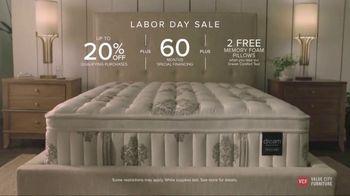 Value City Furniture Labor Day Sale TV Spot, 'Dream Mattress Studio' - Thumbnail 10