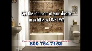 One Day Bath and Shower Remodeling TV Spot, 'Update'