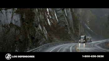 Los Defensores TV Spot, 'Accidente de camión de carga' con Jorge Jarrín, Jaime Jarrín[Spanish] - 4 commercial airings