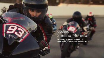 CoverGirl LashBlast Volume Mascara TV Spot, 'Un mundo de hombres' con Shelina Moreda, canción de Peaches [Spanish]