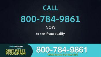 CreditAnswers Debt Reset Program TV Spot, 'The Secret' - Thumbnail 7