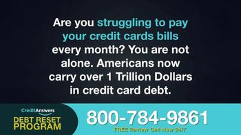 CreditAnswers Debt Reset Program TV Spot, 'The Secret' - Thumbnail 1