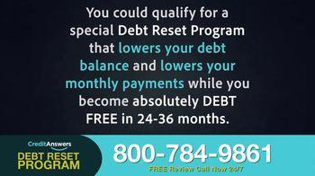 CreditAnswers Debt Reset Program TV Spot, 'The Secret' - Thumbnail 3