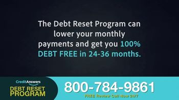 CreditAnswers Debt Reset Program TV Spot, 'The Secret' - Thumbnail 6
