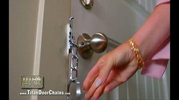 Titan Door Chain TV Spot, 'Maximum Security for Your Front Door: $19.95' - Thumbnail 5