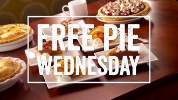 O'Charley's Free Pie Wednesday TV Spot, 'Pie Tastes Better Free'