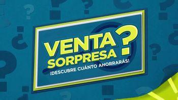 JCPenney Venta Sorpresa TV Spot, 'Descubre cuánto ahorrarás' [Spanish]