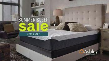 Ashley HomeStore Summer Sleep Sale TV Spot, 'Incredible Mattress Savings' Song by Midnight Riot - Thumbnail 2