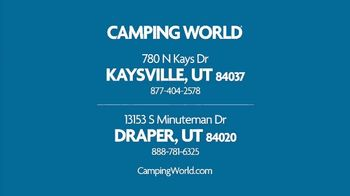 Camping World Back to Camping Sales Event TV Spot, 'Don't Hit the Books Yet: $115 Travel Trailers' - Thumbnail 7