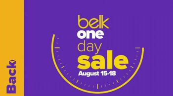Belk One Day Sale TV Spot, \'2019 Back to School: Denim Doorbusters\'