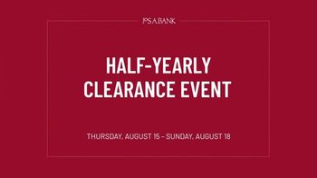JoS. A. Bank Half-Yearly Clearance Event TV Spot, 'Discounts on Everything' - Thumbnail 1