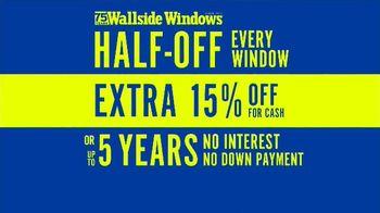 Wallside Windows TV Spot, 'You'll Be Glad Come Winter' - Thumbnail 6