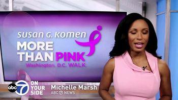 Susan G. Komen for the Cure TV Spot, 'ABC 7 DC: More Than Pink Walk' - Thumbnail 4