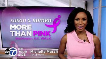 Susan G. Komen for the Cure TV Spot, 'ABC 7 DC: More Than Pink Walk' - Thumbnail 5