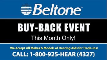Beltone Buy-Back Event TV Spot, 'Highest Amounts of the Year'