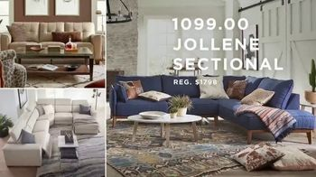 Macy's Labor Day Furniture & Mattress Sale TV Spot, 'Queen Bed and Sectional' - Thumbnail 3