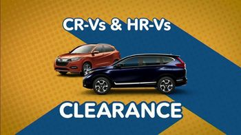 Honda Summer Spectacular Event TV Spot, 'Get Ready for Clearance' [T2] - Thumbnail 1