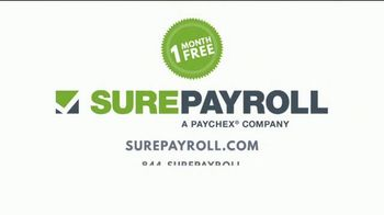 Paychex SurePayroll TV Spot, 'More Time For You' - Thumbnail 7