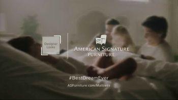 American Signature Furniture Labor Day Doorbusters TV Spot, 'Queen Mattress' - Thumbnail 10