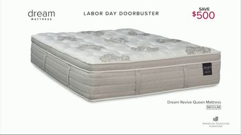 American Signature Furniture Labor Day Doorbusters TV Spot, 'Queen Mattress' - Thumbnail 5