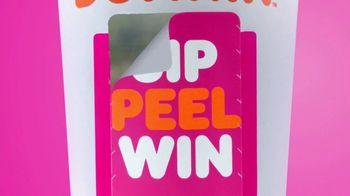 Dunkin' Sip Peel Win Game TV Spot, 'Push' - Thumbnail 2