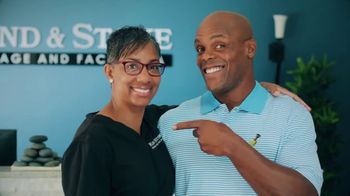 Hand and Stone TV Spot, 'Customer Testimonial: Rock + $69.95 One Hour Massage'