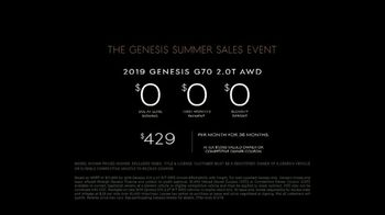 Genesis Summer Sales Event TV Spot, 'On Display' [T2] - Thumbnail 8