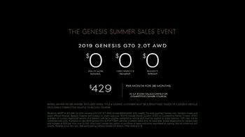Genesis Summer Sales Event TV Spot, 'On Display' [T2] - Thumbnail 9