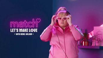 Match.com TV Spot, 'Hot Tip' Featuring Rebel Wilson - Thumbnail 1