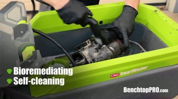CRC SmartWasher BenchtopPRO TV Spot, 'Clean Parts Like a Pro' - Thumbnail 5