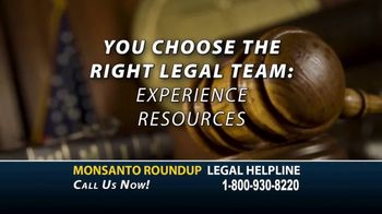 Roundup Legal Helpline TV Spot, 'Choose the Right Legal Team: Bloomberg Update' - Thumbnail 8