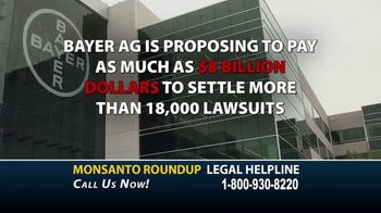 Roundup Legal Helpline TV Spot, 'Choose the Right Legal Team: Bloomberg Update' - Thumbnail 3