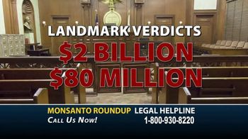 Roundup Legal Helpline TV Spot, 'Choose the Right Legal Team: Bloomberg Update' - Thumbnail 5