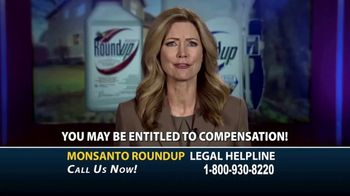 Roundup Legal Helpline TV Spot, 'Choose the Right Legal Team: Bloomberg Update' - Thumbnail 7