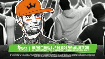 DraftKings Sportsbook TV Spot, 'Keep It 100: Deposit Bonus Up to $500' - Thumbnail 3
