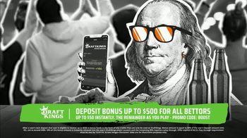 DraftKings Sportsbook TV Spot, 'Keep It 100: Deposit Bonus Up to $500' - Thumbnail 4