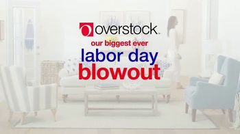 Overstock Labor Day Blowout TV Spot, 'These Deals Won't Last' - Thumbnail 2