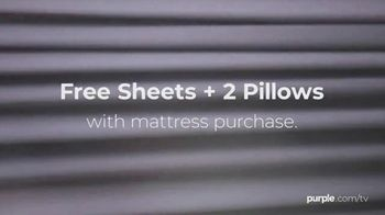 Purple Mattress Labor Day Sale TV Spot, 'Keep This Labor Day Simple: Free Sheets and Two Pillows' - Thumbnail 2