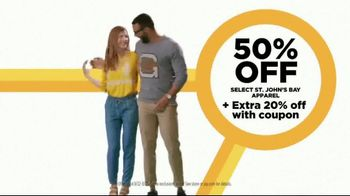 JCPenney Reset & Reconnect Sale TV Spot, 'Stack Your Savings: 20 Percent Coupon and St. John's Bay' - Thumbnail 6