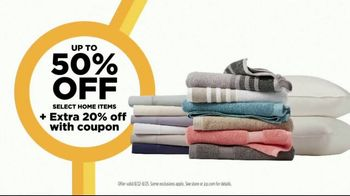 JCPenney Reset & Reconnect Sale TV Spot, 'Stack Your Savings: 20 Percent Coupon and St. John's Bay' - Thumbnail 7