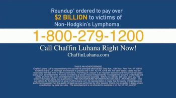 Chaffin Luhana TV Spot, 'Roundup Weed Killer' - Thumbnail 5